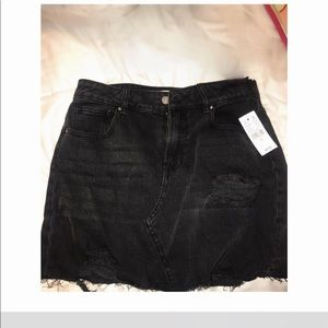 Brand new black pacsun skirt size 26w